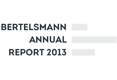 Bertelsmann Annual Report 2013