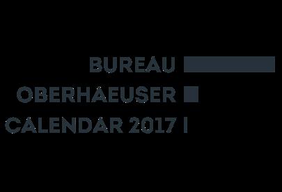 Bureau Oberhaeuser Calendar 2017