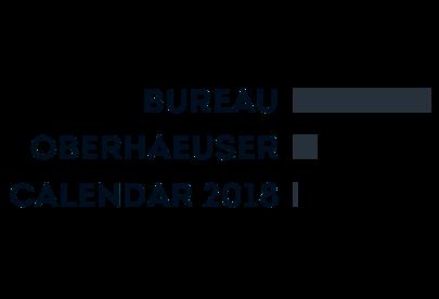 Bureau Oberhaeuser Calendar 2018